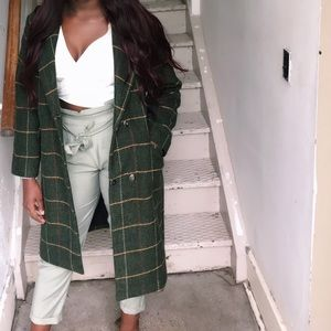 Mint green Zara pants